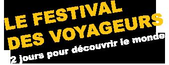 Logo du festival des voyageurs